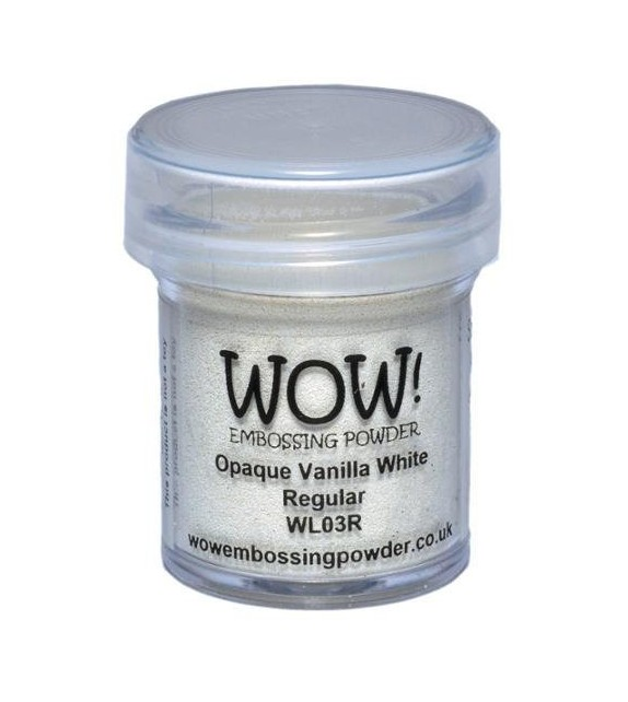 Embossing powder Wow opache vanilla white