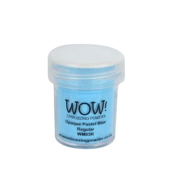 Embossing powder Wow blue regular