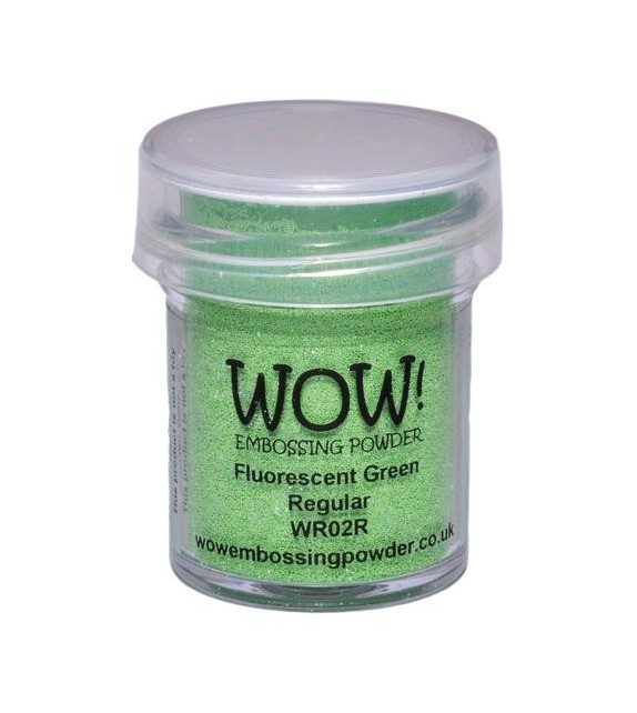 Embossing powder Wow fluorescent green