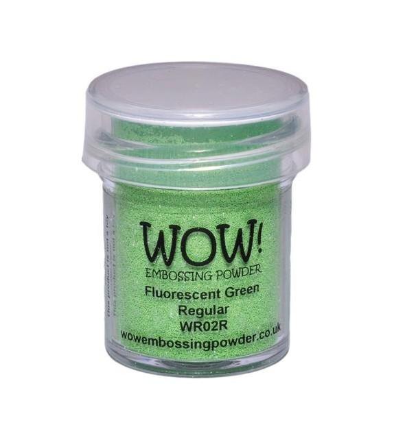 Embossing powder Wow fluorescent green