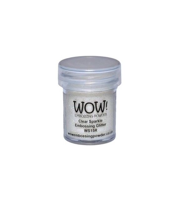 Embossing powder Wow clear sparkle