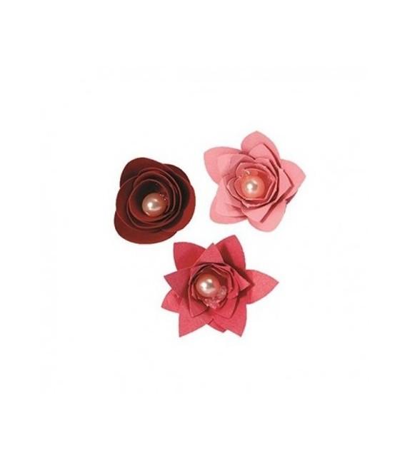 BIGZ DIE - 3 FLOWERS, 3-D