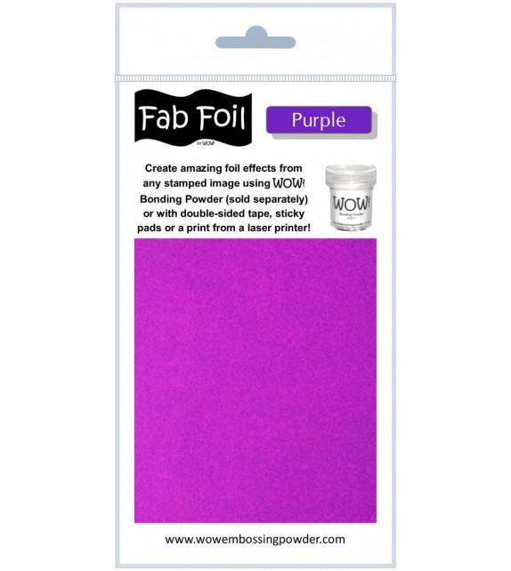 Fab foil Wow purple