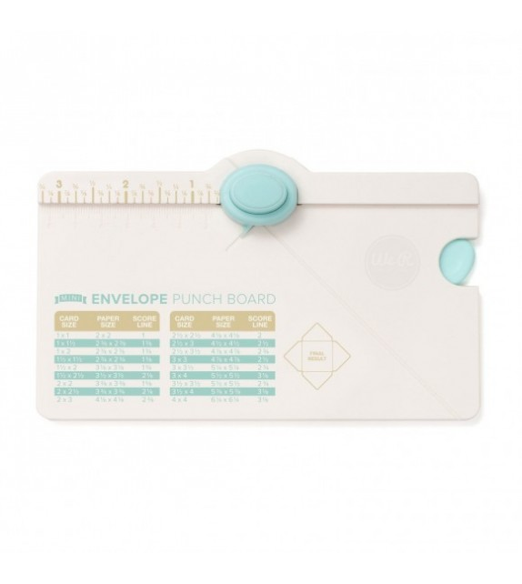 We R Memory Keepers mini envelope punch board