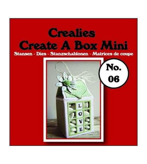 Fustella Crealies Milk carton mini n. 6