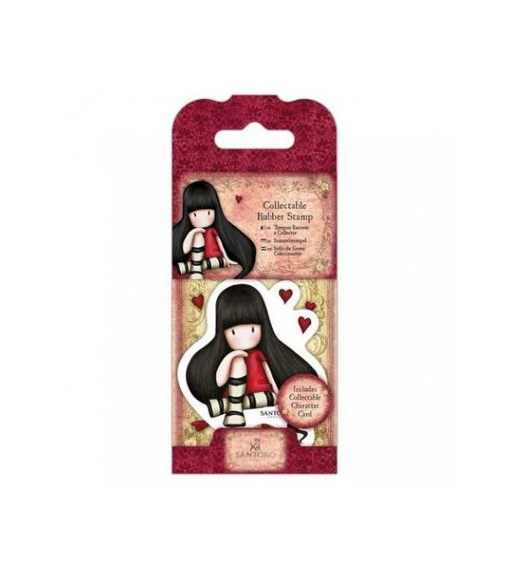 Gorjuss Collectable Mini Rubber Stamp No. 21 The Collector