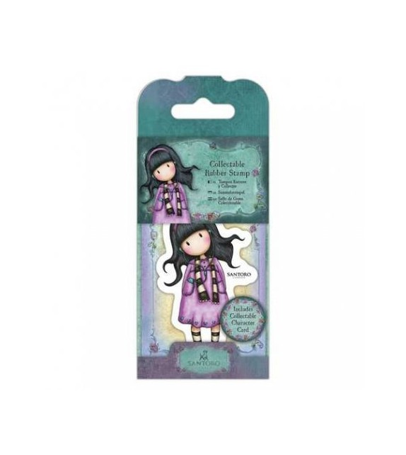 Gorjuss Collectable Mini Rubber Stamp No. 23 Little Song