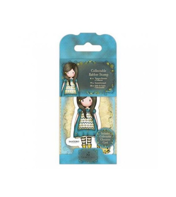 Gorjuss Collectable Mini Rubber Stamp No. 27 The Little Friend