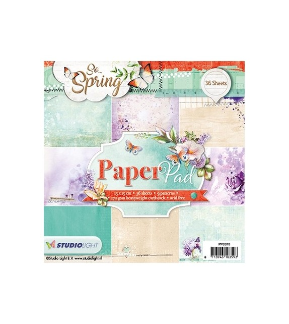 Studio Light Paper Studio Light Paper pad 36 sheets 12 designs