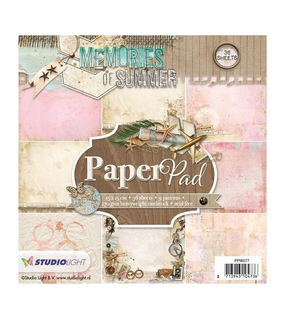 studio light paper pad PPMS77