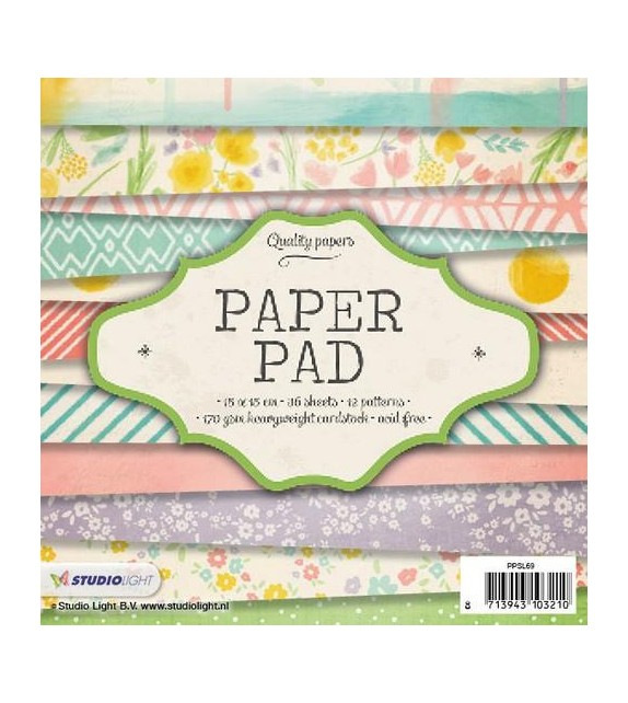 Studio Light Paper pad 36 sheets 12 designs nr 69