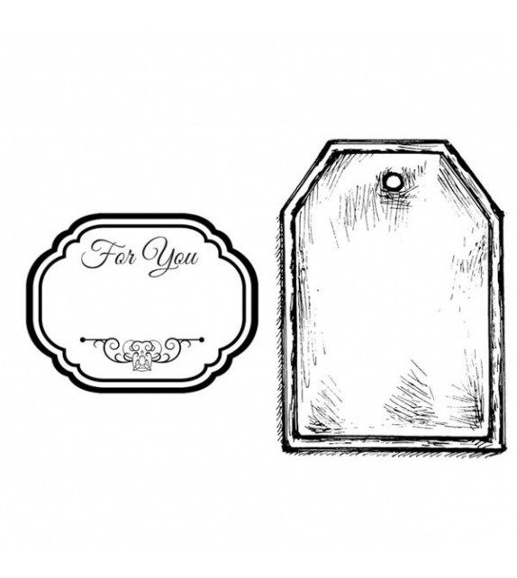 Stamperia Natural Rubber Stamp Camille