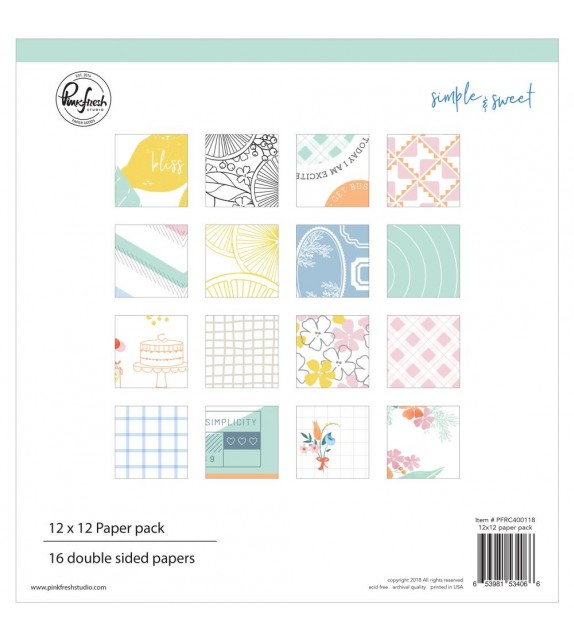 Pinkfresh Studio Single-Sided Paper Pack