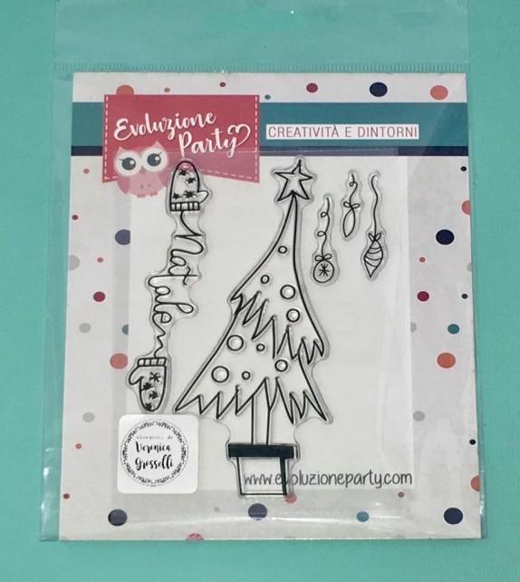 """Clear Stamps """"Albero di Natale"""""""