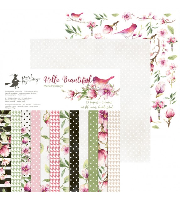 "Paper Pad 12x12"" - Hello Beautiful by ""P13"""