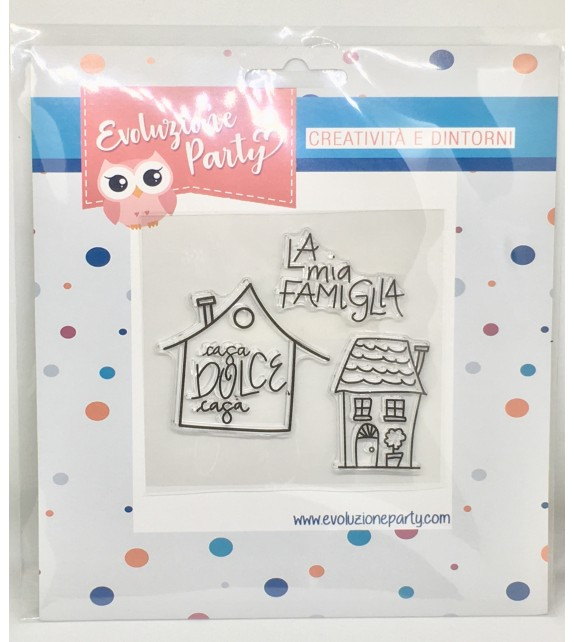 "Clear Stamps ""La mia Famiglia"" By Veve"