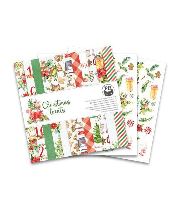 """Paper Pad 12x12"""" - CHRISTMAS TREAT by """"P13"""""""