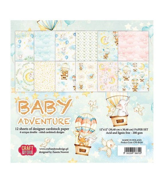 BABY ADVENTURE BY CRAFT&YOU