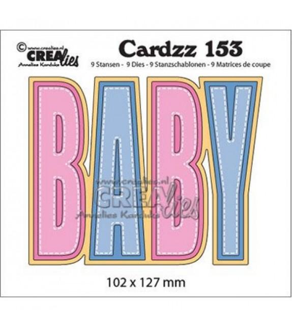 Crealies Fustella Cardzz Nr.153 Baby
