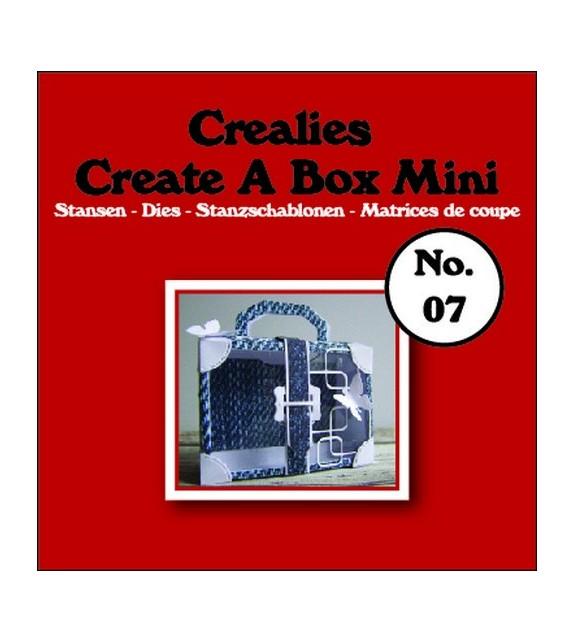 FUSTELLA CREALIES CREATE A BOX MINI NO.07 SUITCASE
