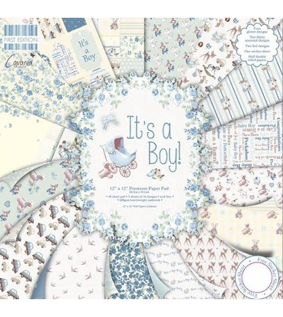 "FIRST EDITION BY TRIMCRAFT - ""IT'S A BOY"""