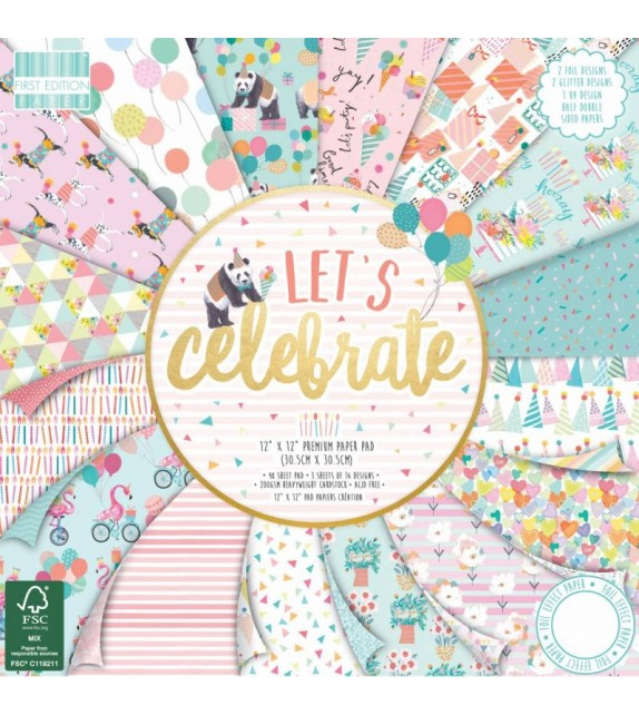 "FIRST EDITION BY TRIMCRAFT - ""LET'S CELEBRATE"""