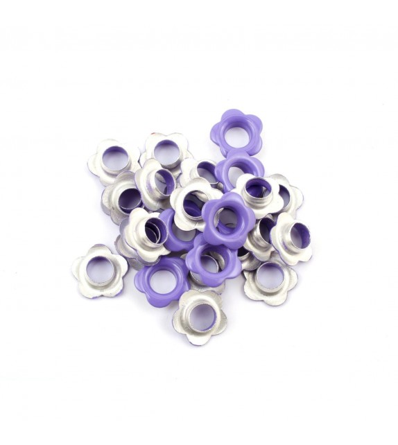 Eyelets flower purple a 25 st.