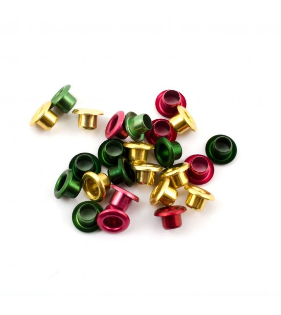 "Eyelets metalic 1/8""christm.as25 s"