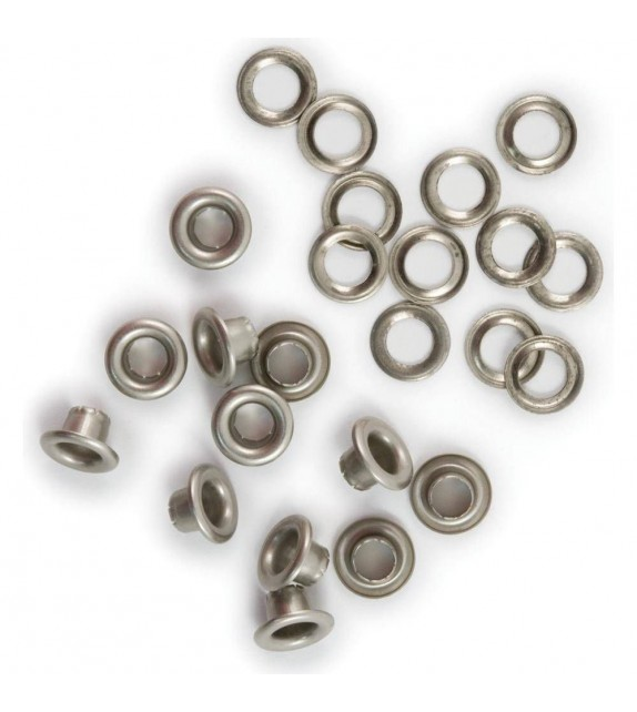 We R Memory Keepers eyelet & washer standard nickel x60