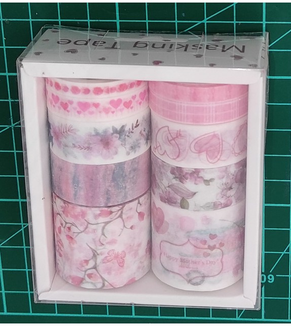 "WASHI TAPE SET DA 10 PZ ""TH0100"""