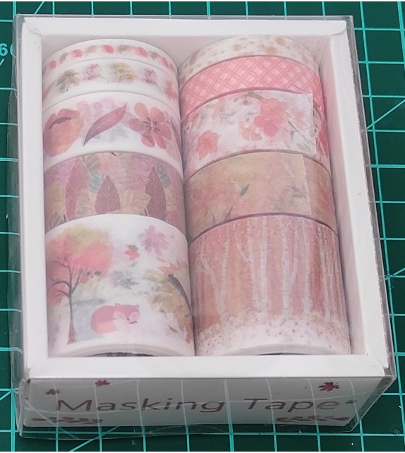 "WASHI TAPE SET DA 10 PZ ""TH0103"""