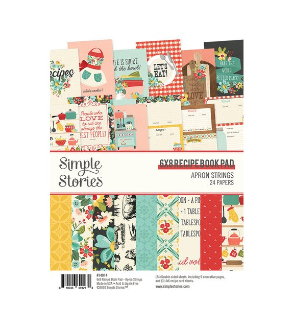Apron Stikers SIMPLE STORIES 15X20CM