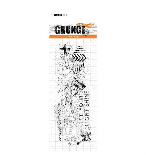 Studio Light Clear Stampl Grunge Collection nr.494