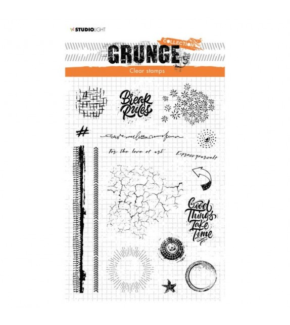 Studio Light Clear Stampl Grunge Collection nr.502