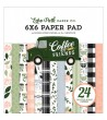 ECHO PARK COFFEE & FRIENDS 6x6 Inch Paper Pad