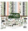 "ECHO PARK COFEE & FRIENDS COLLECTION KIT 12""X12"""