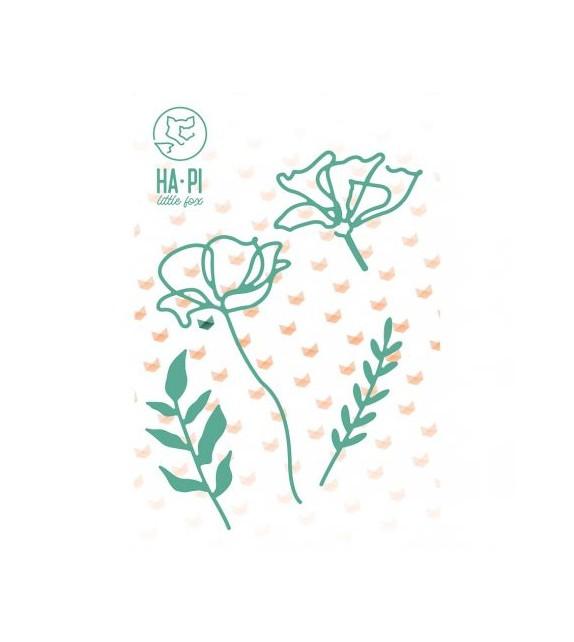 Matrices de découpe Fleurs et feuillages - HA PI Little Fox