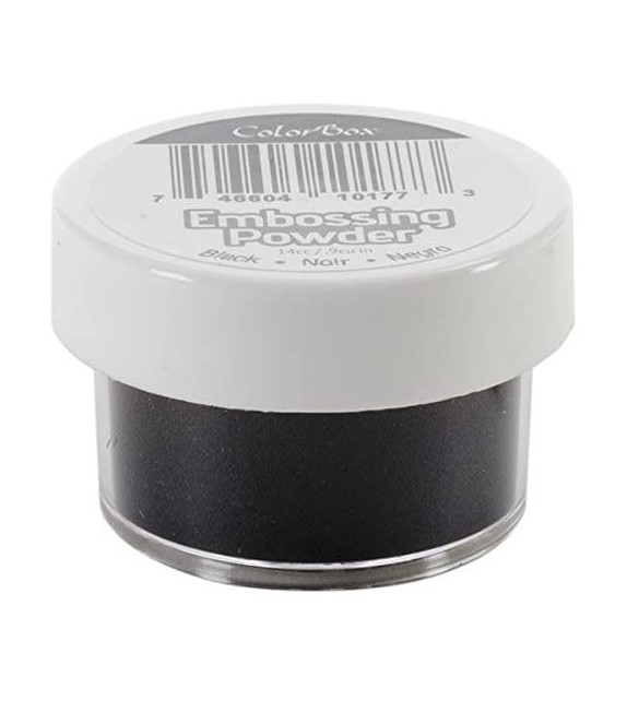 Clearsnap Colorbox Embossing Powders, Black