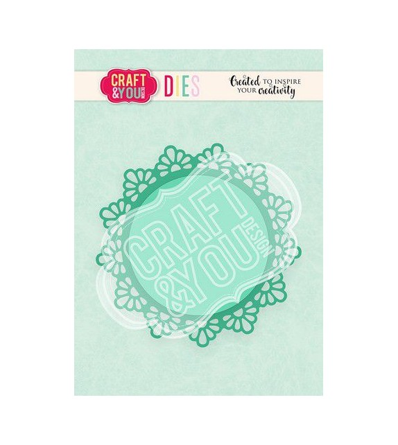 Craft&You Cutting Die Doily 1