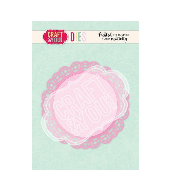 Craft&You Cutting Die Doily 3
