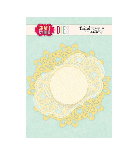 Craft&You Cutting Die Doily 5