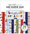 Echo Park Little Dreamer Boy 6x6 Inch Paper Pad
