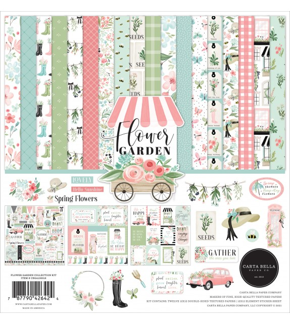 Carta Bella Flower Garden Collection Kit