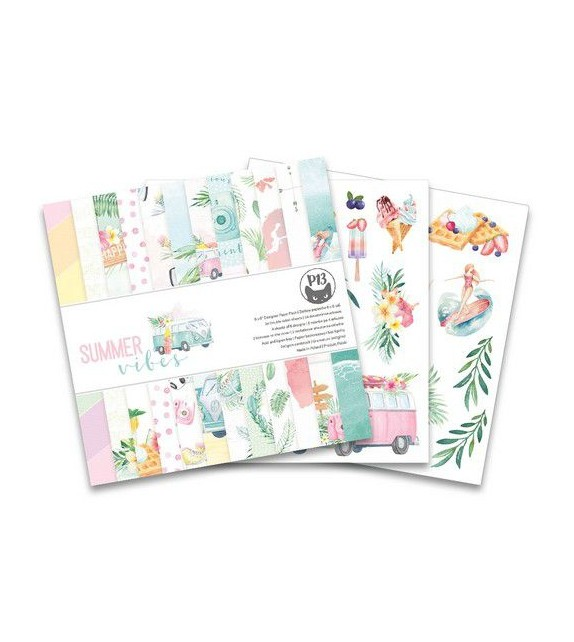 Piatek13 - Paper pad Summer vibes, 6x6