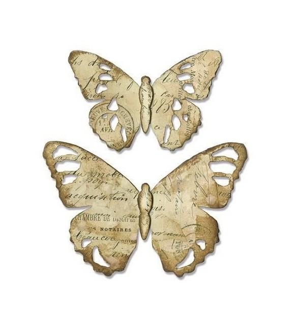 BIGZ DIE -  Tattered Butterfly