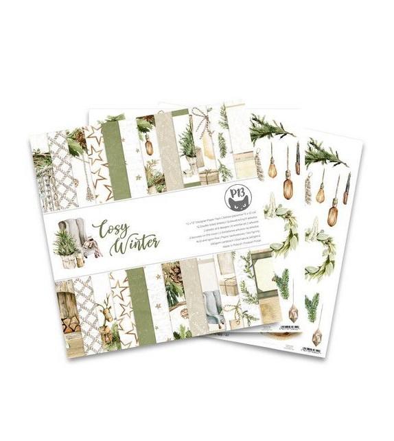 Piatek13 - Paper pad Cosy Winter, 12x12