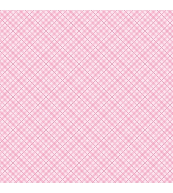 Patterned single-sided light pink plaid