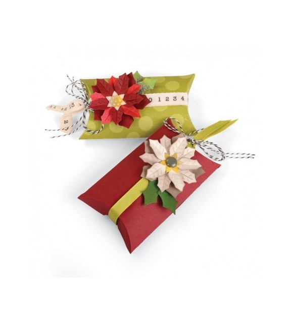 Fustella 660660 Box, Pillow e Poinsettias